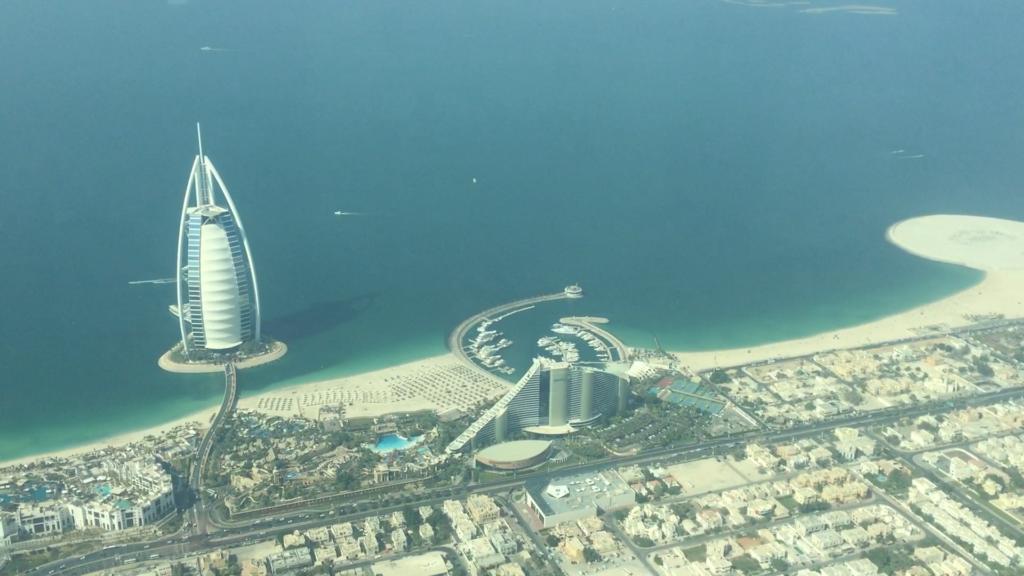 Überflug Burj Al Arab
