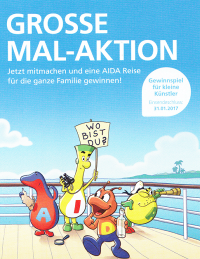 AIDA Mal-Aktion